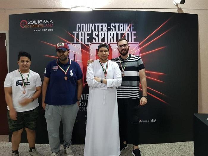 Extremesland CSGO Asia Cup 2018 - particpants