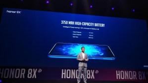 Honor 8X Smartphone-Battery