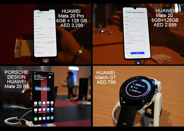 Huawei launches Mate 20 Series for Middle East & Africa market