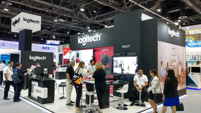 Logitech showcased their latest product in Gitex Tech Week – 2018