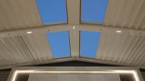 Retractable ceiling for VOX Outdoor Cinema