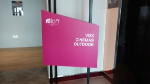 VOX Outdoor Cinema on 4th Floor