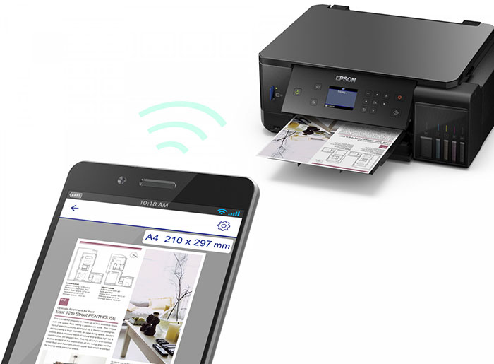 Wi-Fi & apps to print from mobile devices