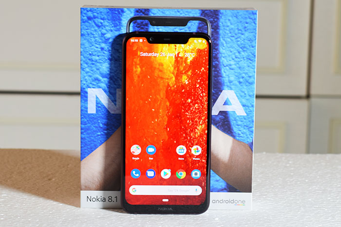 """Review of Nokia 8.1 smartphone- """" Mid- range smartphone with Hi-End features"""""""