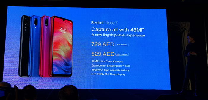 Xiaomi launches Mi 9 and Redmi Note 7 smartphones in UAE with an