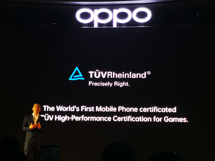 OPPO-Reno-smartphones-has-world's-first-mobile-phone-to-obtain-TÜV's-High-Performance-Certification-for-Games.