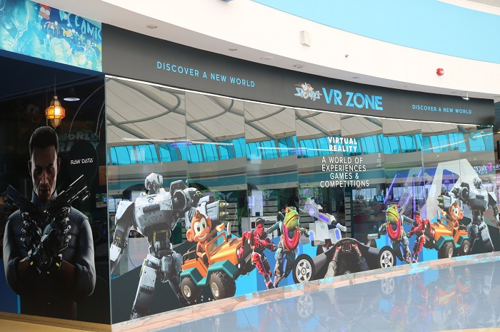 Sparky's VR Zone in Mushrif Mall Abu Dhabi