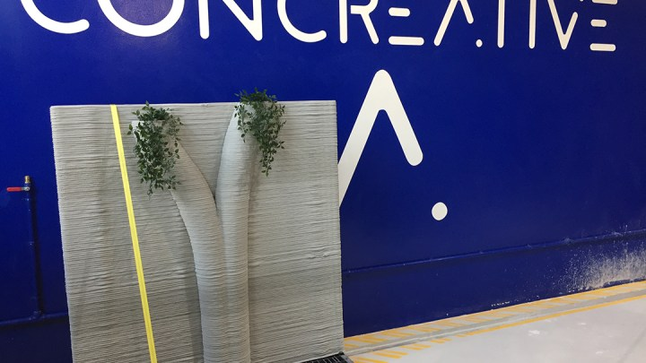 Concreative UAE Can Provide Cost Effective Concrete 3D Printing Solution for Complex Design