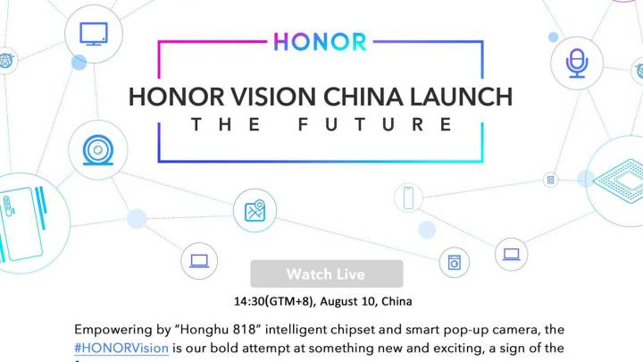 Honor to launch Honor Vision – A Smart TV with Pop Up Camera