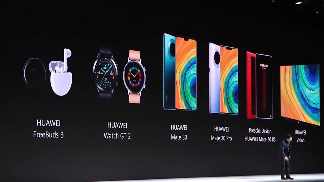 Highlights of the Huawei launch in Munich – Huawei Mate 30 Series, Huawei Vision, Huawei GT2 and More . . .