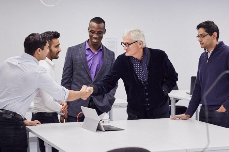 James Dyson meeting Inventors