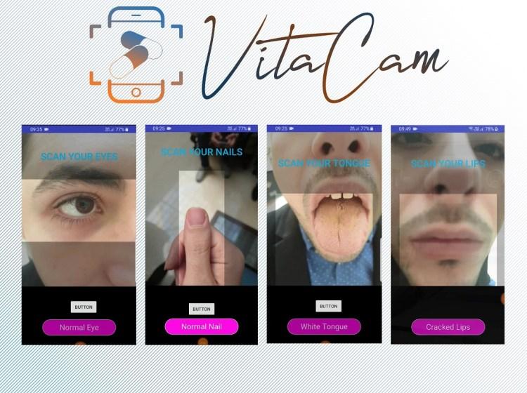 Vita Cam Smartphone Application Image