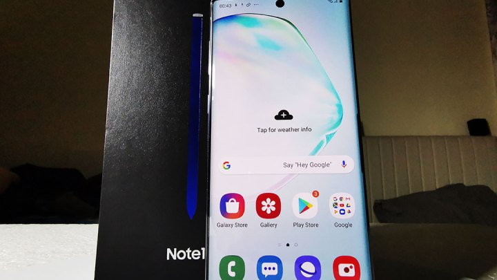 Review of Samsung Note 10 Smartphone Model-SM-N970 in UAE