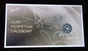 At the launch of Parmigiani Fleurier Hijri Calendar Wristwatch-12 Month Counter
