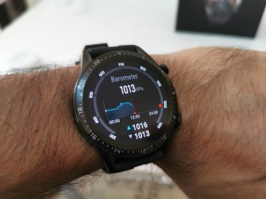 Huawei GT2-Watch- Barometer reading