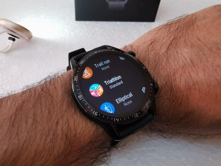Huawei GT2-Watch- Fitness tracking