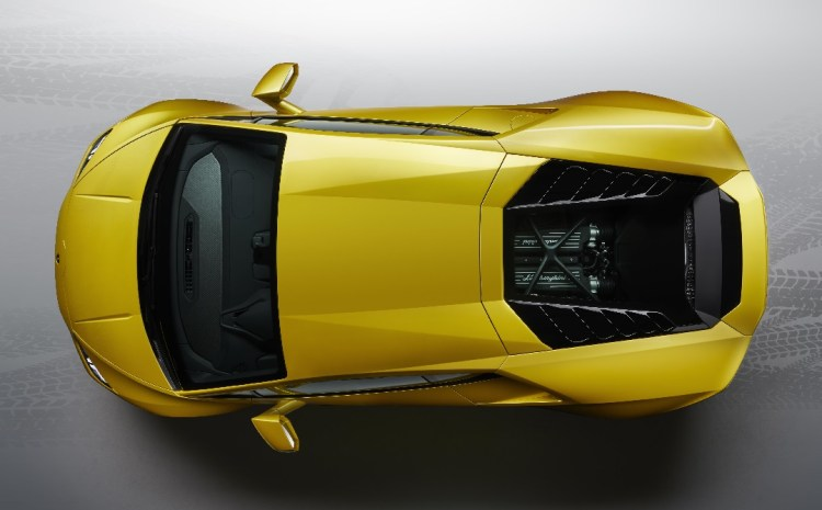 Lamborghini Huracán EVO Rear-Wheel Drive - Top-view