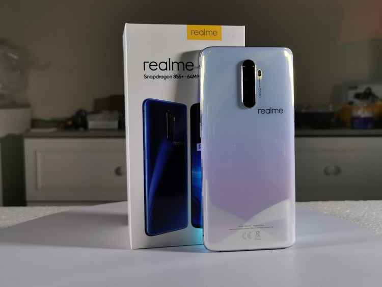Realme X2 Pro Smartphone -Quad Camera Lunar White back panel