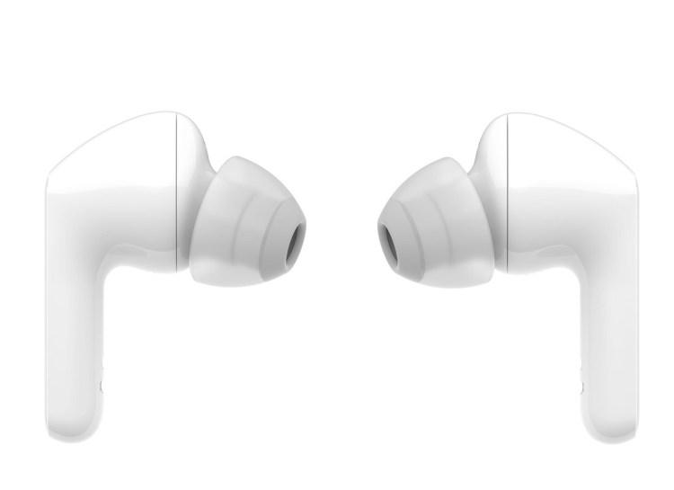 LG TONE Free Earbuds -white