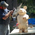 Making of Show Bear