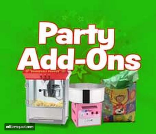 locate reptile party supplies