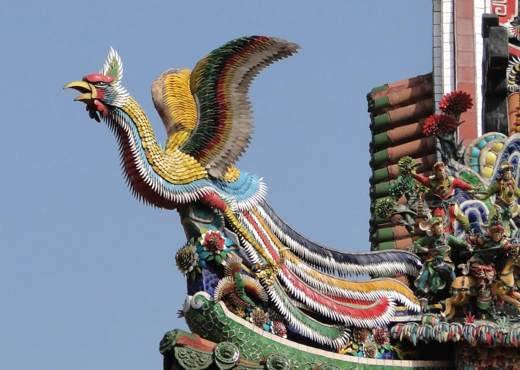 Longshan Temple Fenghuang