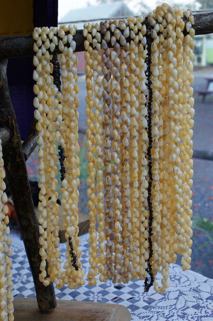 Shell necklaces (Cook Islands)