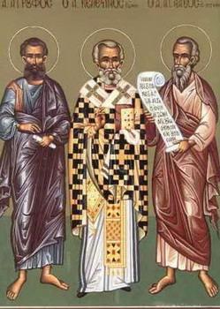 sveti Herodion, Asinkrit in Flegon - škofje in učenci sv. Pavla