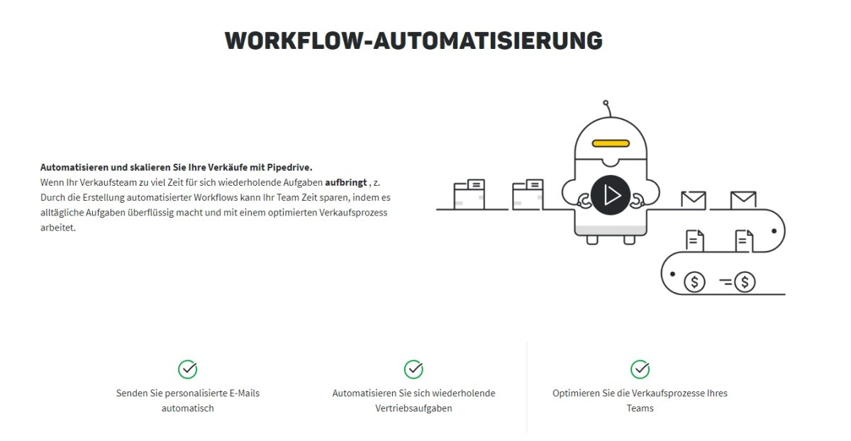 Pipedrive Workflow Automation