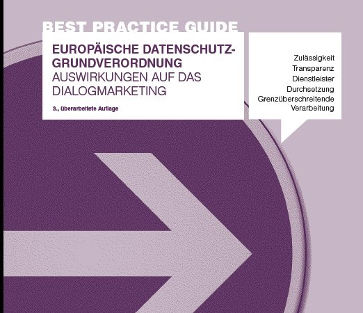 DDV Best Practice Guide DSGVO 2019