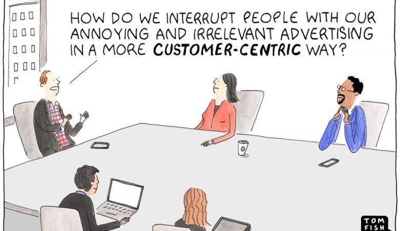 Marketoonist customer-Centric Kundenorientierung