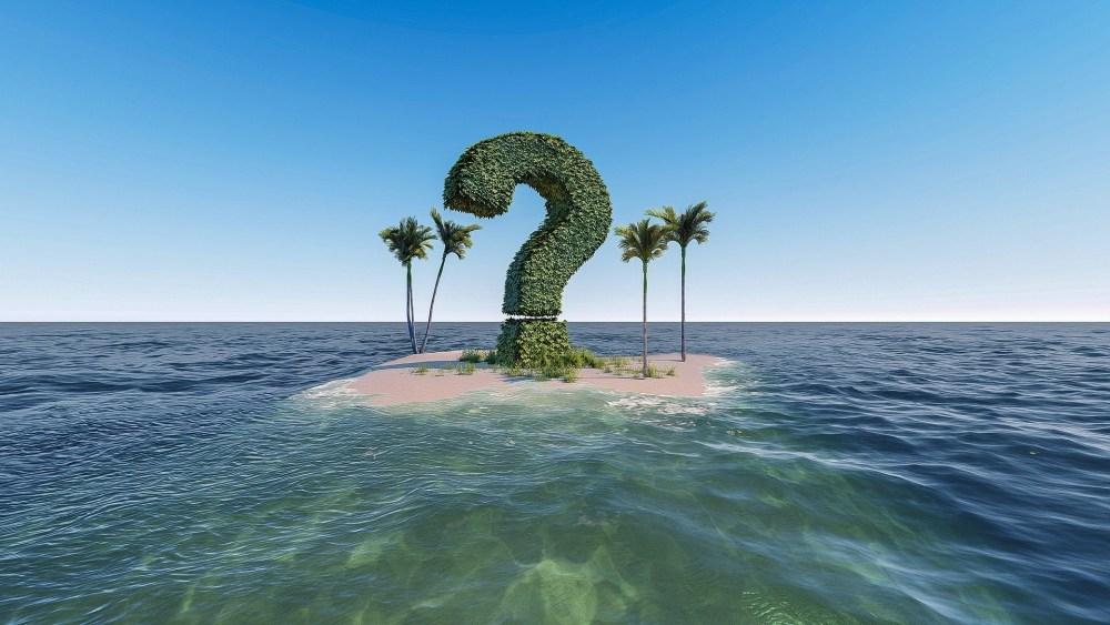 Insel Fragezeichen Pixabay