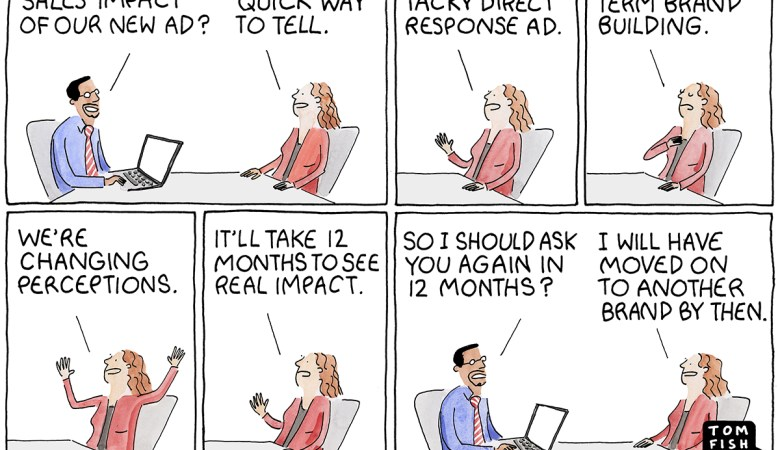Tom Fishburne Marketoonist Sales Impact
