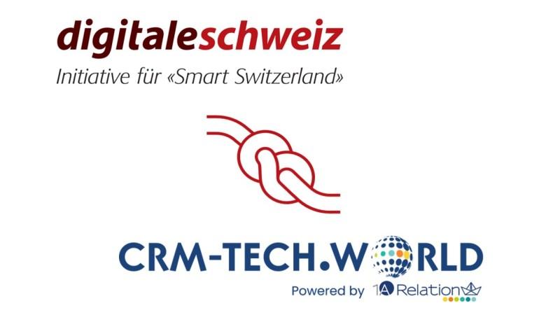 Kooperation Digitale Schweiz und CRM-TECH.WORLD
