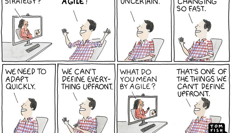 Marketoonist Agile Methode