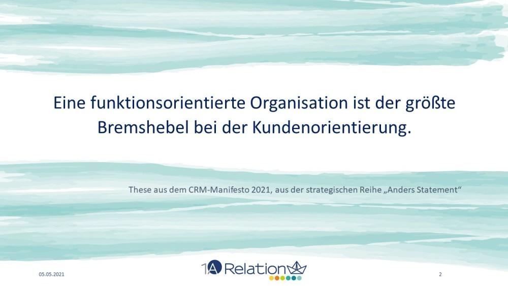 CRM Manifesto Folie 2 1A Relations Georg Blum