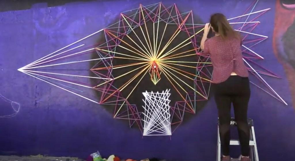Yarn Bombing y String Art