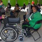 Ayuntamiento de Soledad entrega aparatos funcionales a personas discapacitadas