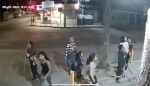 Captan en video a niños robando cámaras de vigilancia