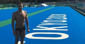 Junto con el representante de Ecuador, fueron los únicos latinoamericanos que estuvieron presentes en esta prueba de 10 kilómetros.