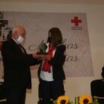 Cruz roja reconoce labor de Lorena Valle Rodríguez