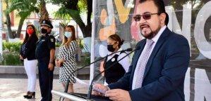 Zapata Rosales, encabezó la ceremonia por el 174 Aniversario de la Gesta de los Niños Héroes del Castillo de Chapultepec.