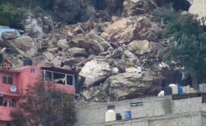 """Hugo César Mendoza Castillo señaló que se notificó el desalojo de 80 casas cercanas al Cerro de Chiquihuit, ya que se indicó que hay """"peligro latente"""""""
