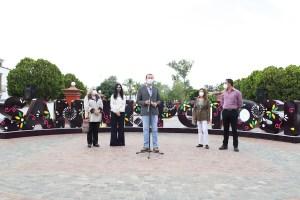 Al inaugurar las letras monumentales Xavier Nava Palacios afirmó que con ello se contribuye a fortalecer la identidad y el patrimonio de la ciudad