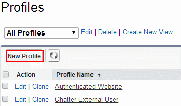 How to create Profiles in Salesforce