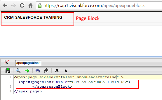 Visualforce pageBlock Tag