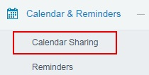 Creating New Salesforce.com Calendar Sharing