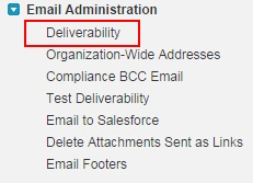 Configuring Different Email Settings in Salesforce.com