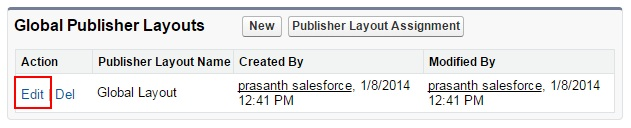 Salesforce Chatter  - Adding Thanks Button in Chatter