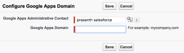 Google Integration with Salesforce.com